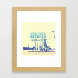 That Side of Town Framed Art Print