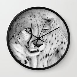 Graceful Terror Wall Clock