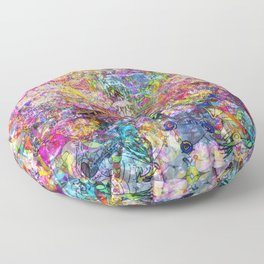 Dance Like There's No Tomorrow Floor Pillow