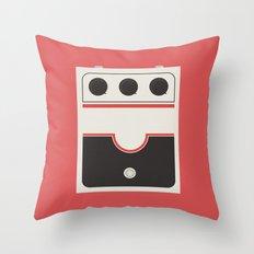 White Striped Throw Pillow