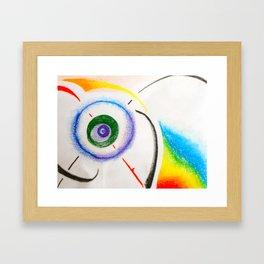 Dynamic Orbit Framed Art Print