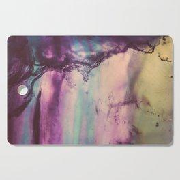 Purple Fluorite from our Earth Cutting Board