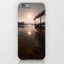a new Day in Bled iPhone Case