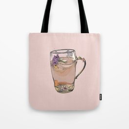 Cute iced tea, summer, drink, drinks, illustration, cocktail, cocktails, beverage Tote Bag