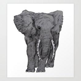 Elephunk Art Print