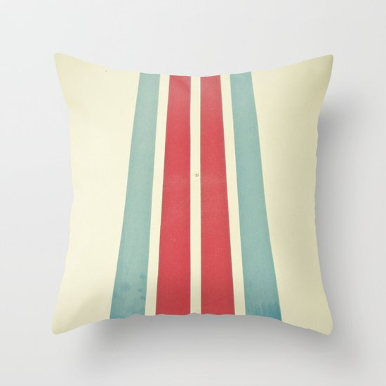 Emergency Stop Throw Pillow