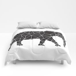 Elephant Angles (Help Save Endangered Elephants) Comforters