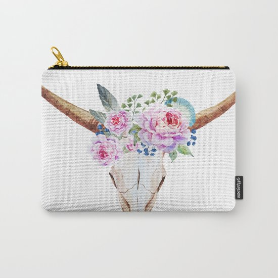 Animal Skull 07 Carry-All Pouch