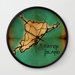 Staten Island Love... Wall Clock