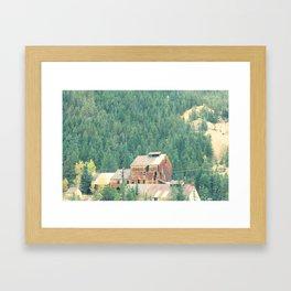 Rusty Nature Framed Art Print
