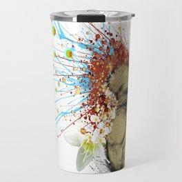 """Gabriela"" of the Kaweskar People - Color Travel Mug"