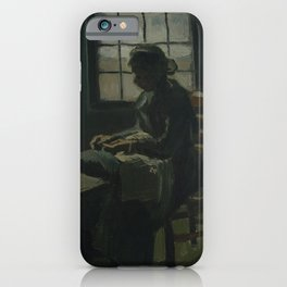 Woman Sewing iPhone Case