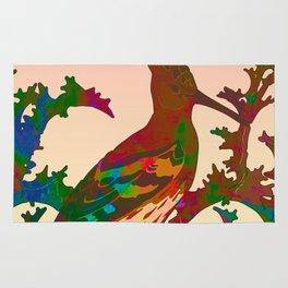 Color hoopoe Rug