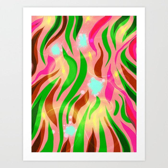 Flutters Art Print