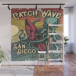 Catch the Wave Wall Mural