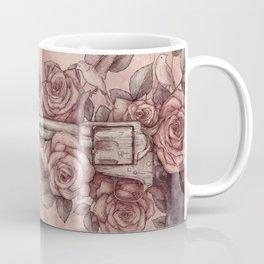 Guns & Flowers Coffee Mug