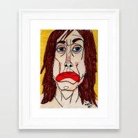 iggy pop Framed Art Prints featuring Iggy Pop by Sasquatch
