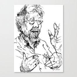 David Suzuki (scientist) Canvas Print