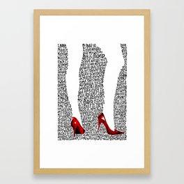 9 Crimes Framed Art Print