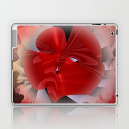 red polynomial flower -2- Laptop & iPad Skin