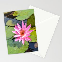 Water Lily, V Stationery Cards