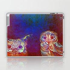 Owls at night Laptop & iPad Skin