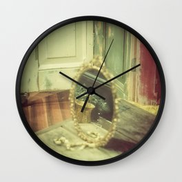 Hidden Glamour Wall Clock