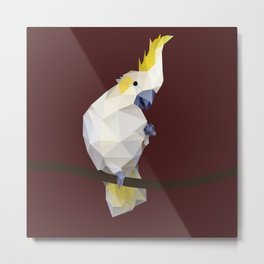 Cockatoo. Metal Print