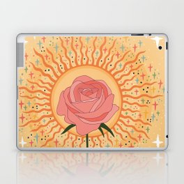 Protected by the golden light Laptop & iPad Skin