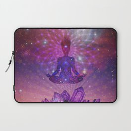 Amethyst Crystal Mountain Laptop Sleeve