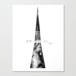 Kuro Noir tower Canvas Print
