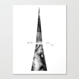 Kuro Noir tower Canvas Print