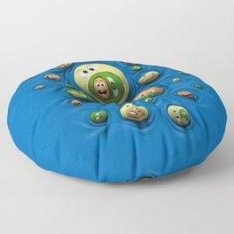 Emoticontagious Floor Pillow