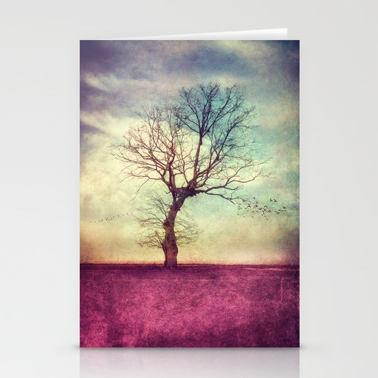 ATMOSPHERIC TREE Stationery Cards