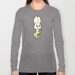 Rabbit; Animal Fable Long Sleeve T-shirt