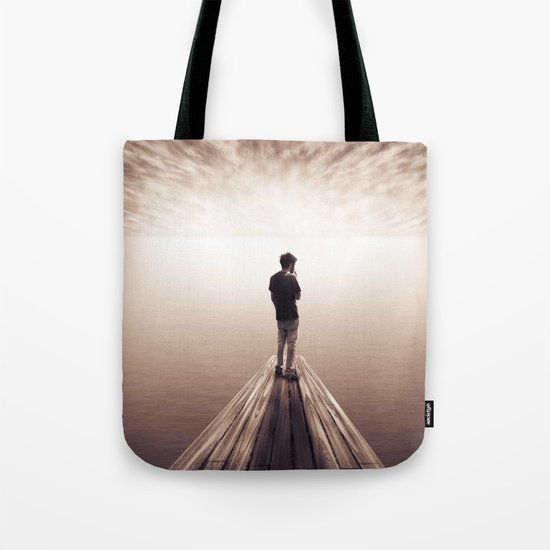 The Sky is getting closer Tote Bag