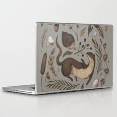 Weasel and Hedgehog Laptop & iPad Skin