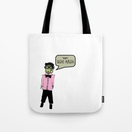 Hipster Frank Color Tote Bag
