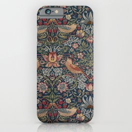 Strawberry Thief by William Morris iPhone Case