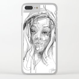 Nora Clear iPhone Case