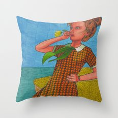 Last Summer Throw Pillow