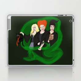 KITTY POTTER AND THE SANDERSON SISTERS' SPELL Laptop & iPad Skin