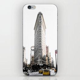 Desaturated New York iPhone Skin