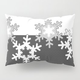 Black and white Christmas pattern Pillow Sham