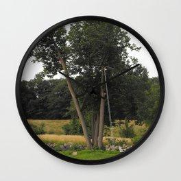 Optical Illusion, Tree-swing Wall Clock