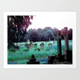 Meet You At The Cemetery Gates Art Print