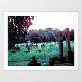 Meet You At The Cemetery Gates Art Print