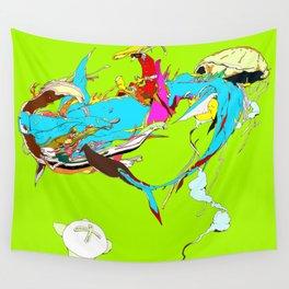 因幡の白兎 - WHITE HARE OF INABA Wall Tapestry