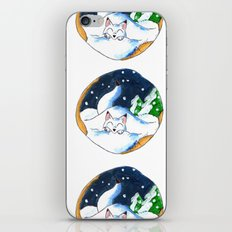 Frosty Fort iPhone Skin