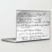 ballet Laptop & iPad Skins featuring BALLET by The Family Art Project